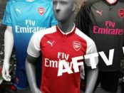 Arsenal shirt 2018