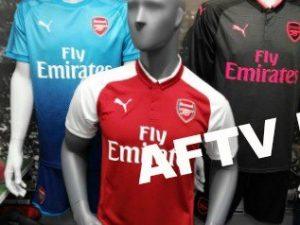 Arsenal shirt 2018