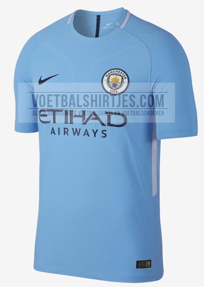 Manchester City shirt 2018