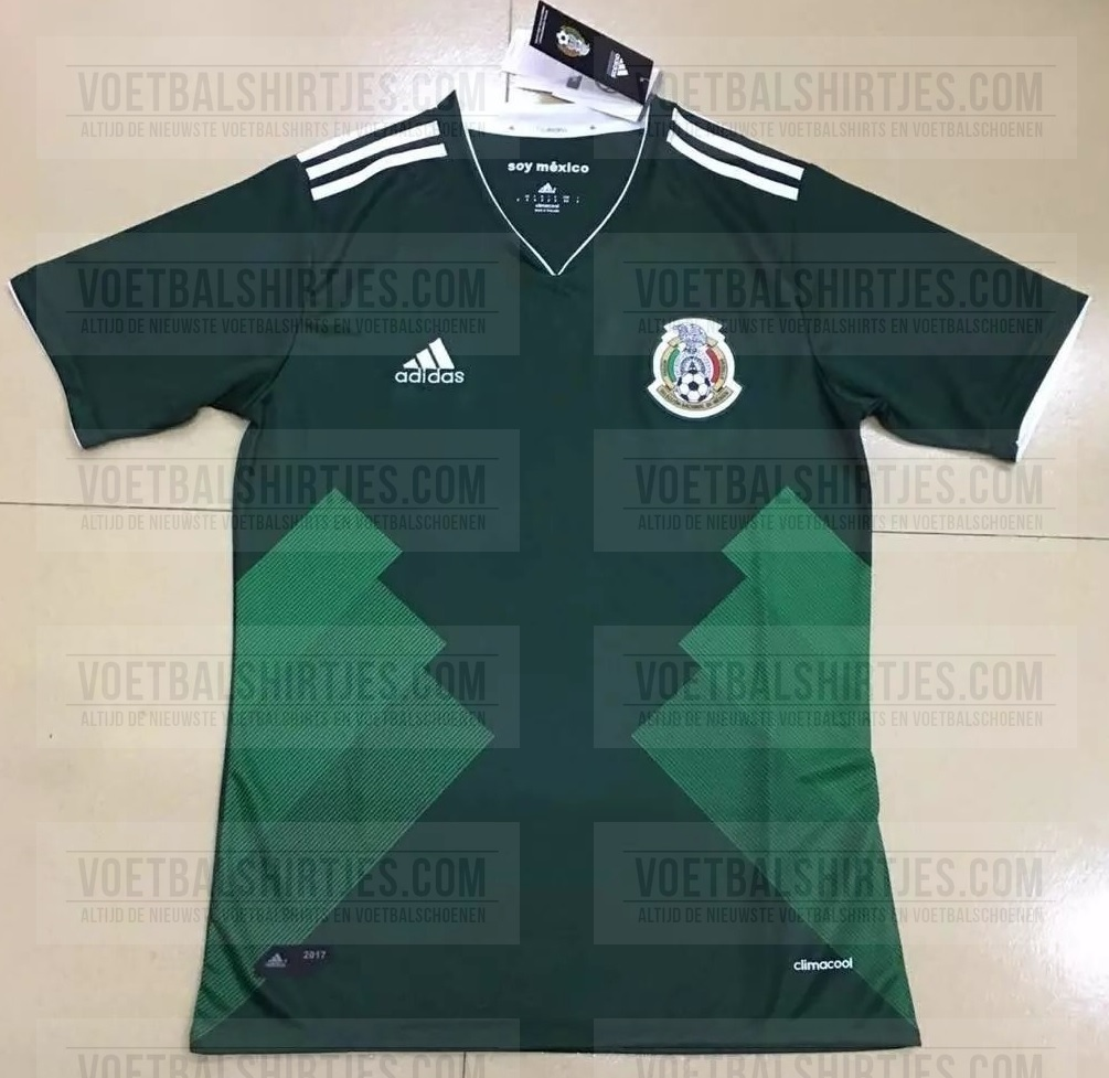 Mexico home kit 2017 - 2018