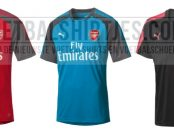arsenal 17-18 training tops