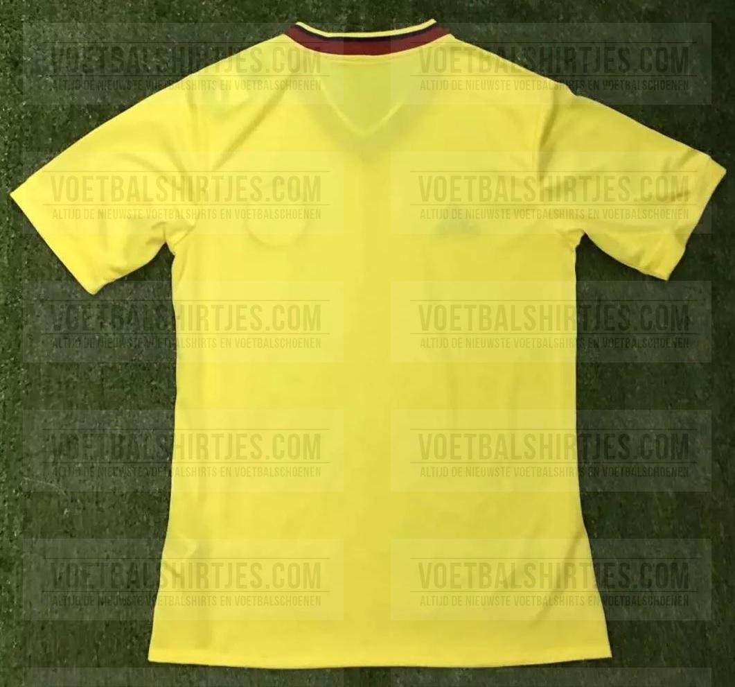 camiseta Colombia 2017 2018