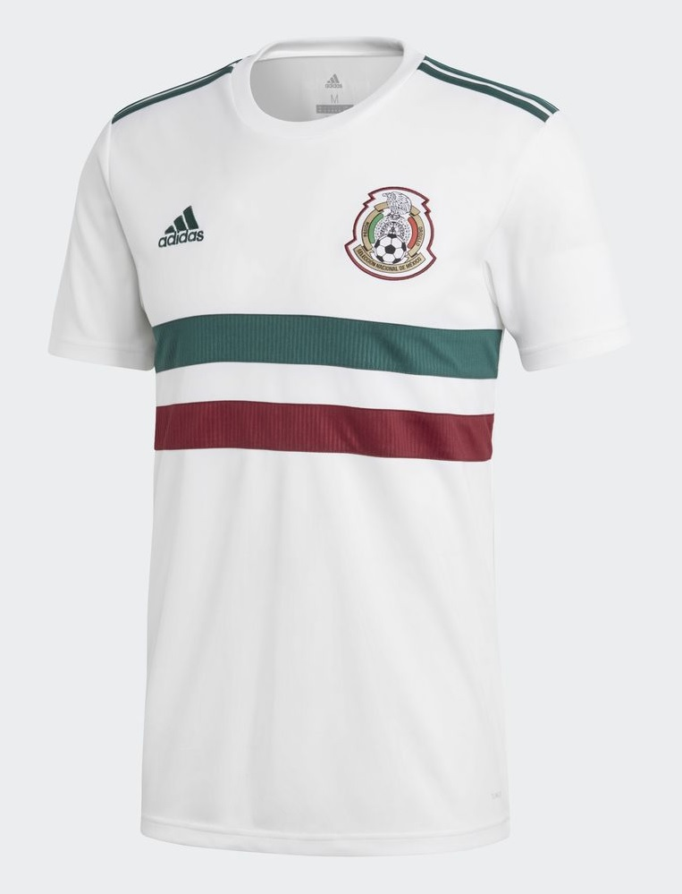 camiseta Mexico 2018 away