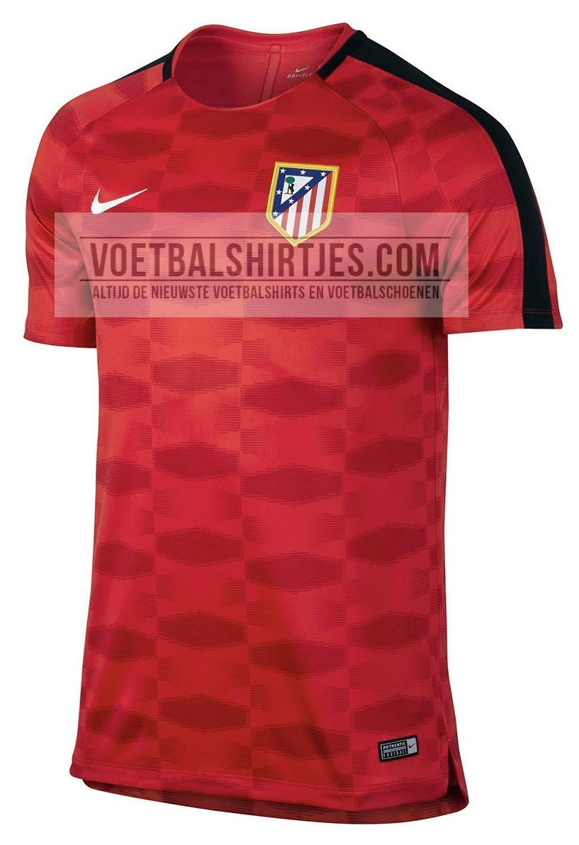 Atletico Madrid 17-18 pre match top