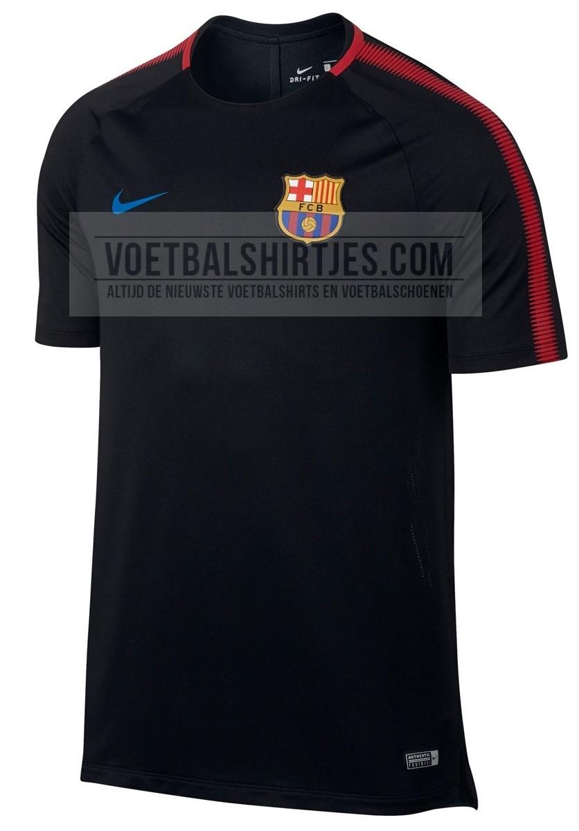 Barcelona trainingsshirt 2017