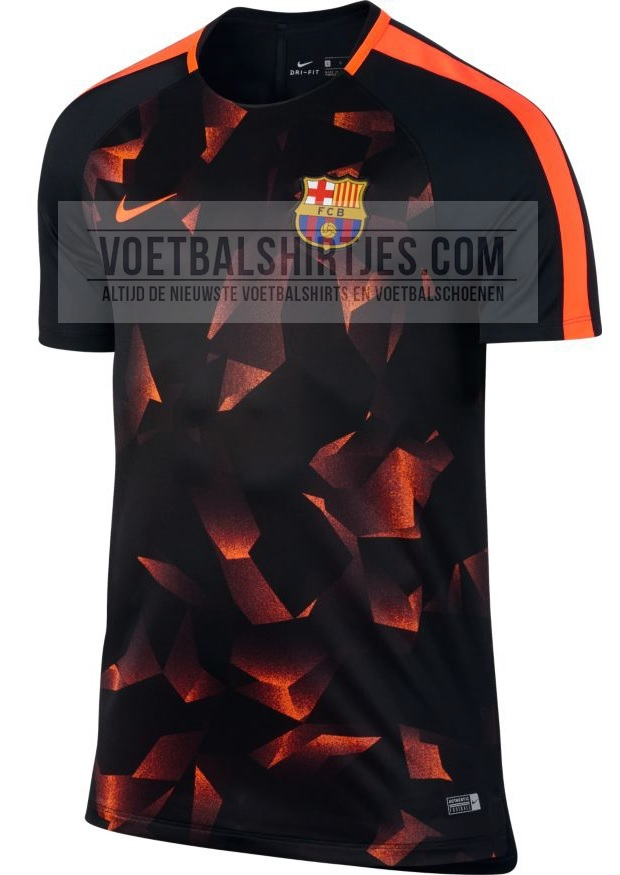 FC Barcelona 17-18 UCL pre match top