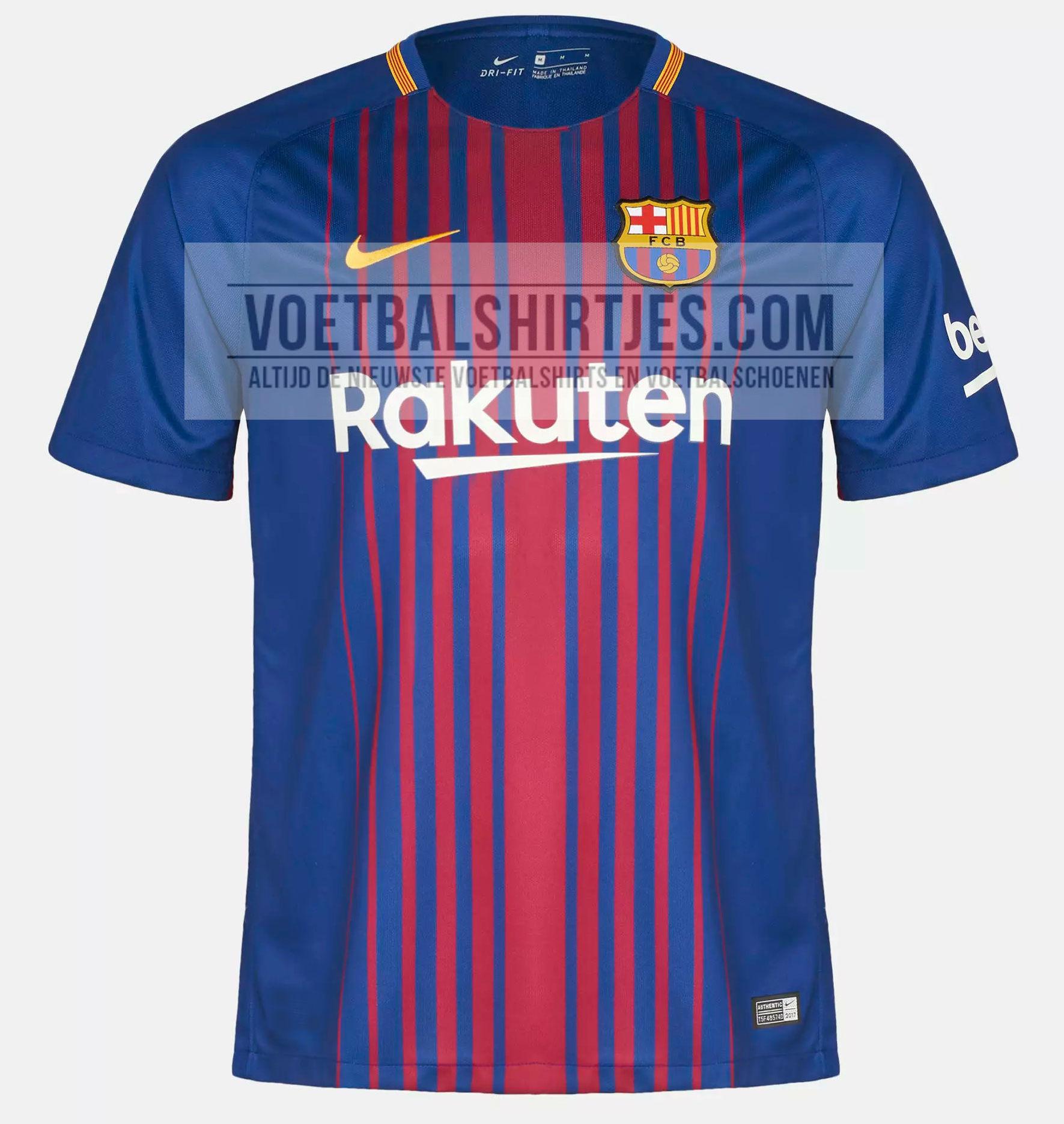 FC Barcelona shirt 2018