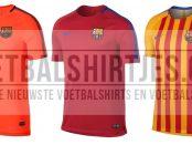 FC Barcelona training tops 17-18