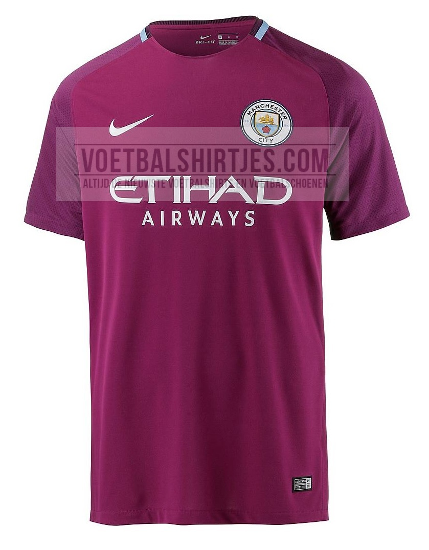 Manchester City uitshirt 2018