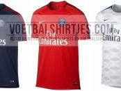 PSG training tops 2017-2018