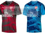 arsenal 17-18 pre match tops