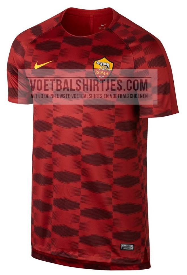 as roma 17-18 pre match top