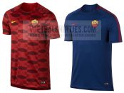 as roma trainingsshirts 17-18