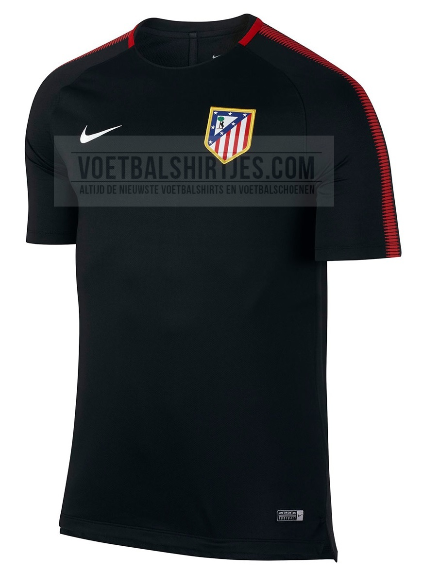 atletico madrid trainingsshirt 2017-2018