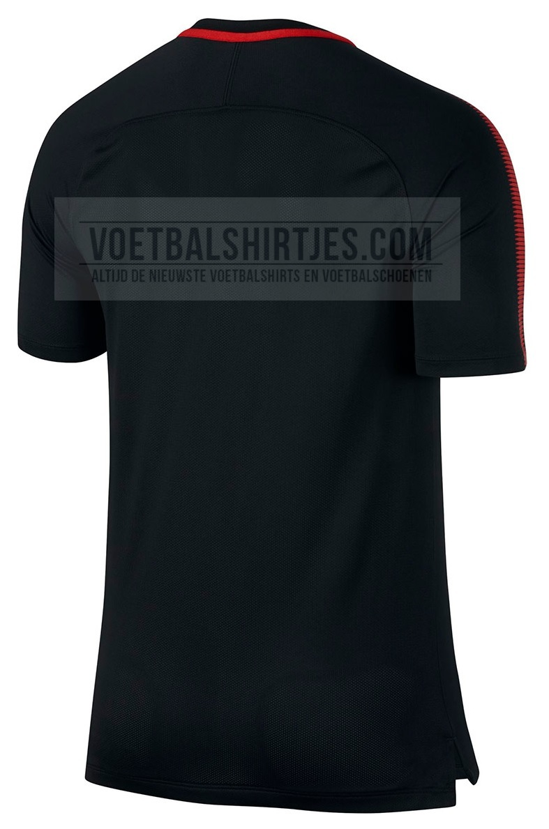 atletico madrid trainingsshirt 2017_2018