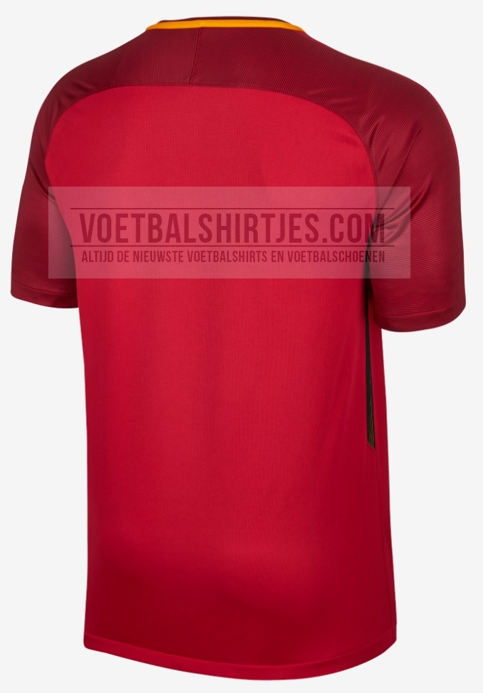 AS Roma thuisshirt 2018