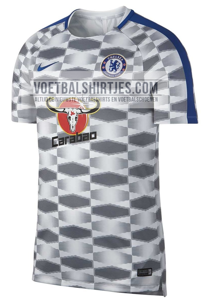 Chelsea 17-18 pre-match top