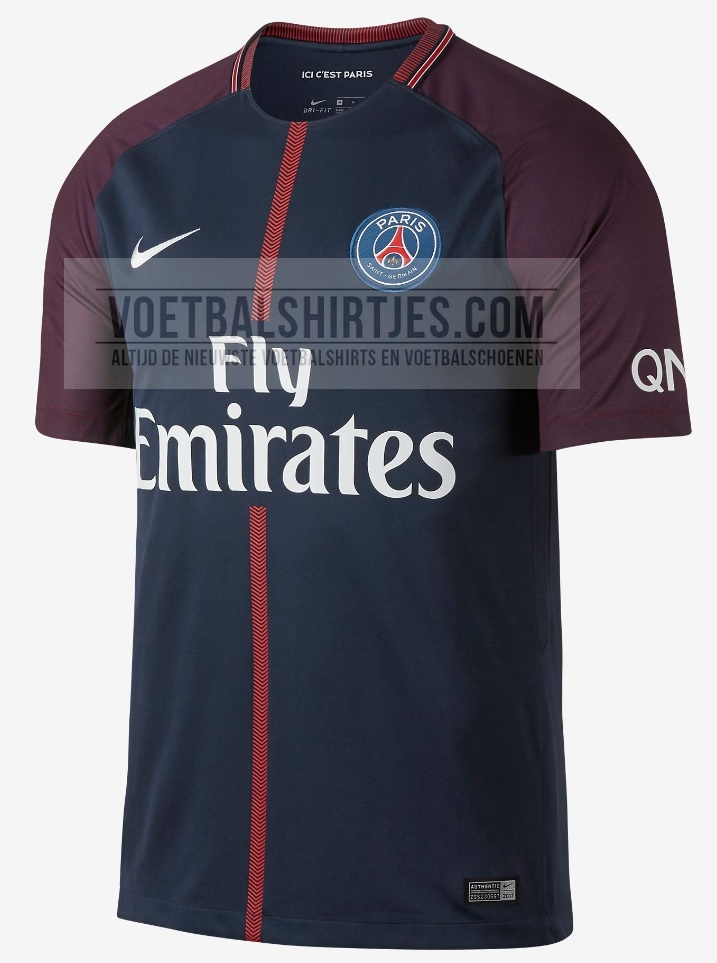 PSG 17-18 home kit