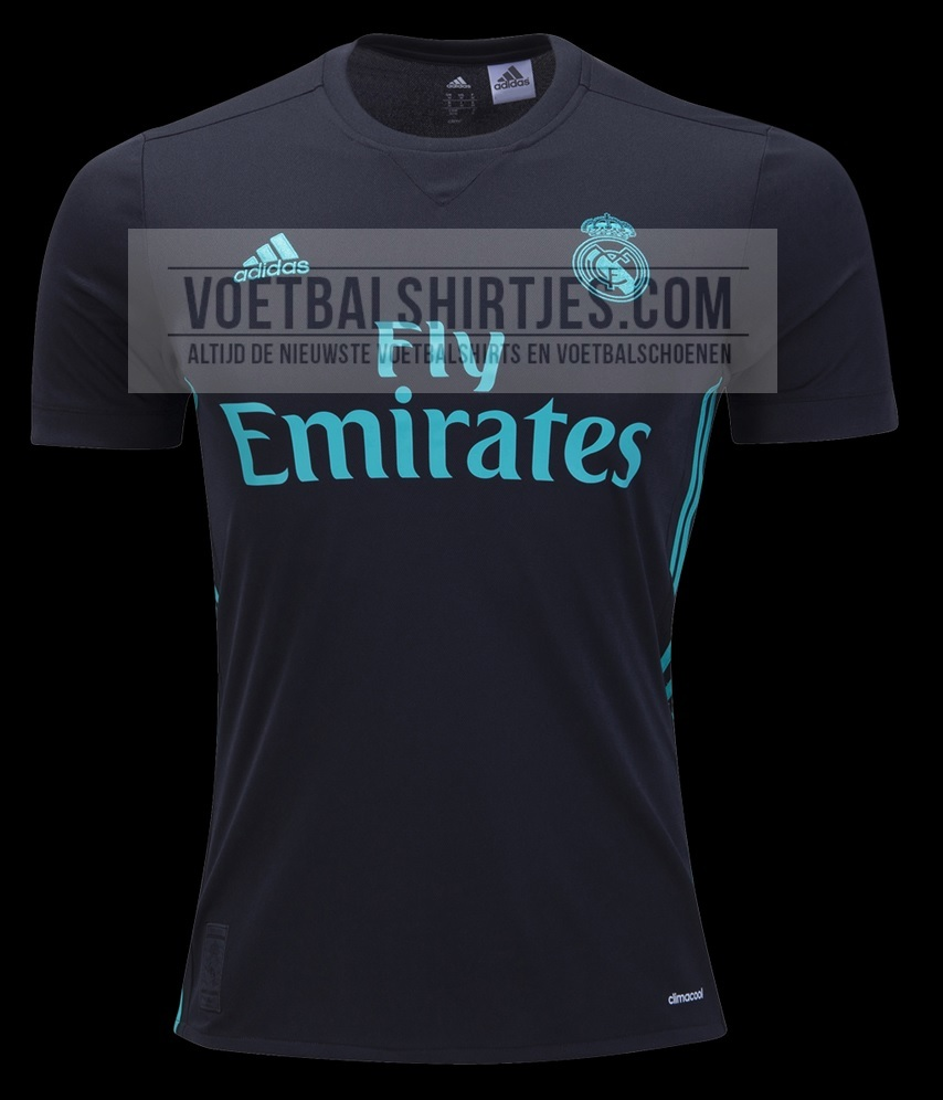 Real Madrid 17-18 away kit
