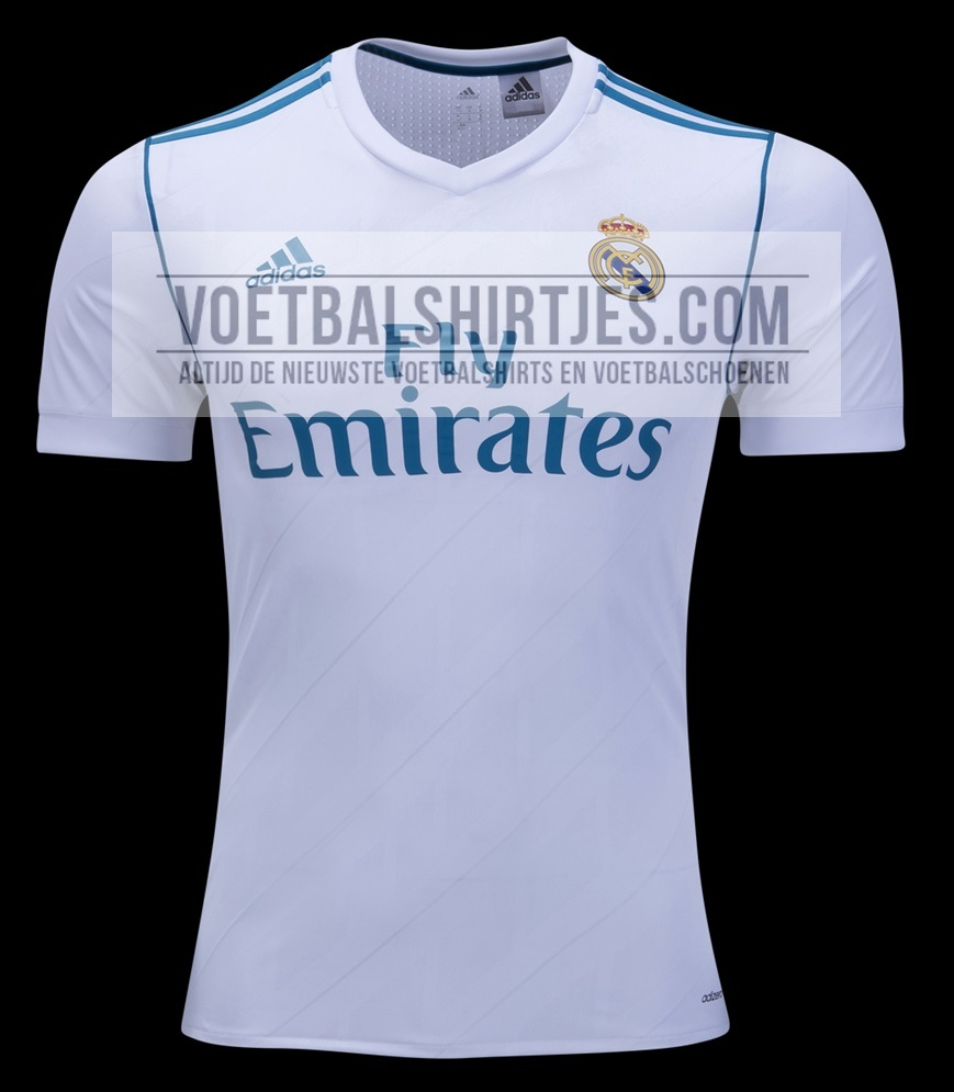 Real Madrid 17-18 home kit
