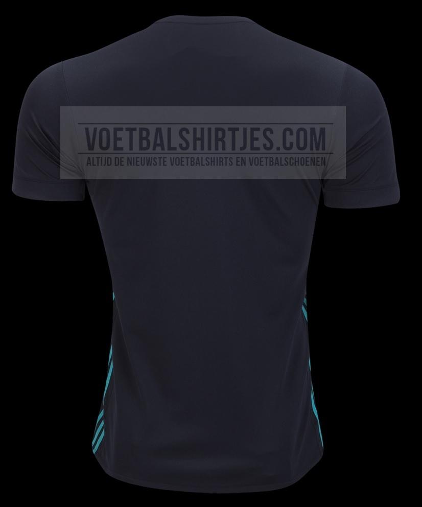 Camiseta alternativa Real madrid 17/18