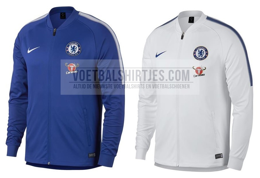 chelsea training top 2017-18