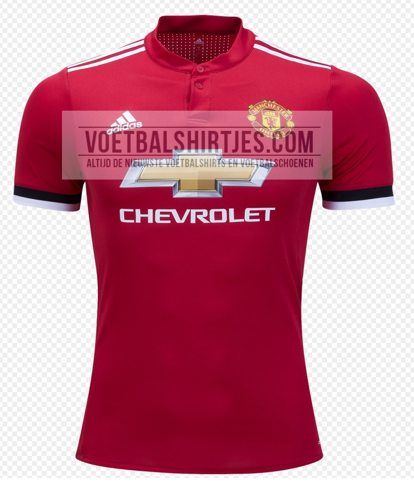 Manchester United 17/18 home kit