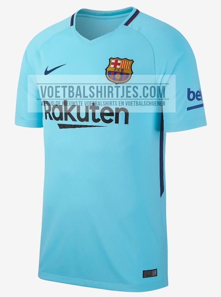 Barcelona uitshirt 17-18