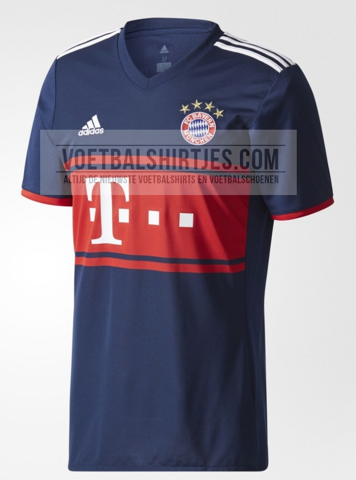 Bayern Munich trikot away 17-18