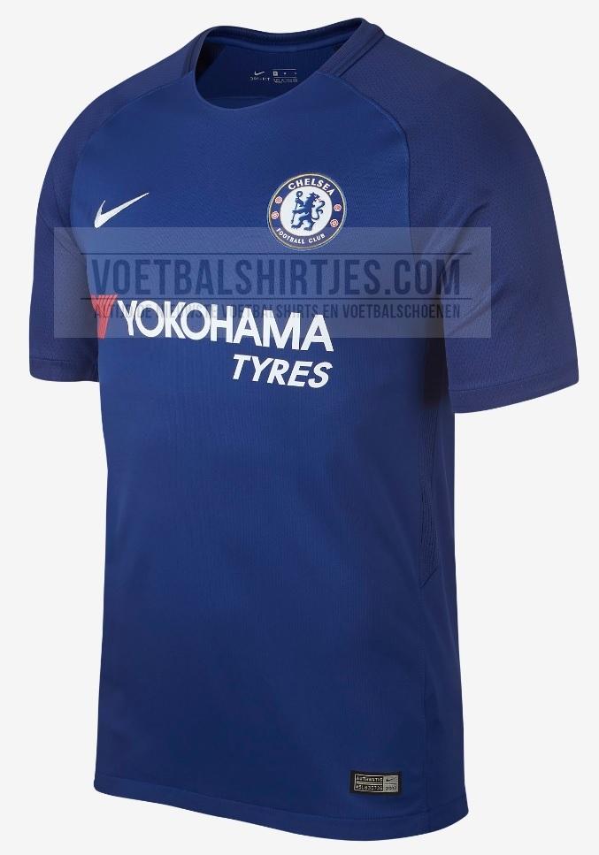 Chelsea 17-18 home kit