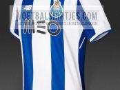 FC Porto 17-18 home kit