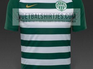 Ferencvaros 17-18 home kit