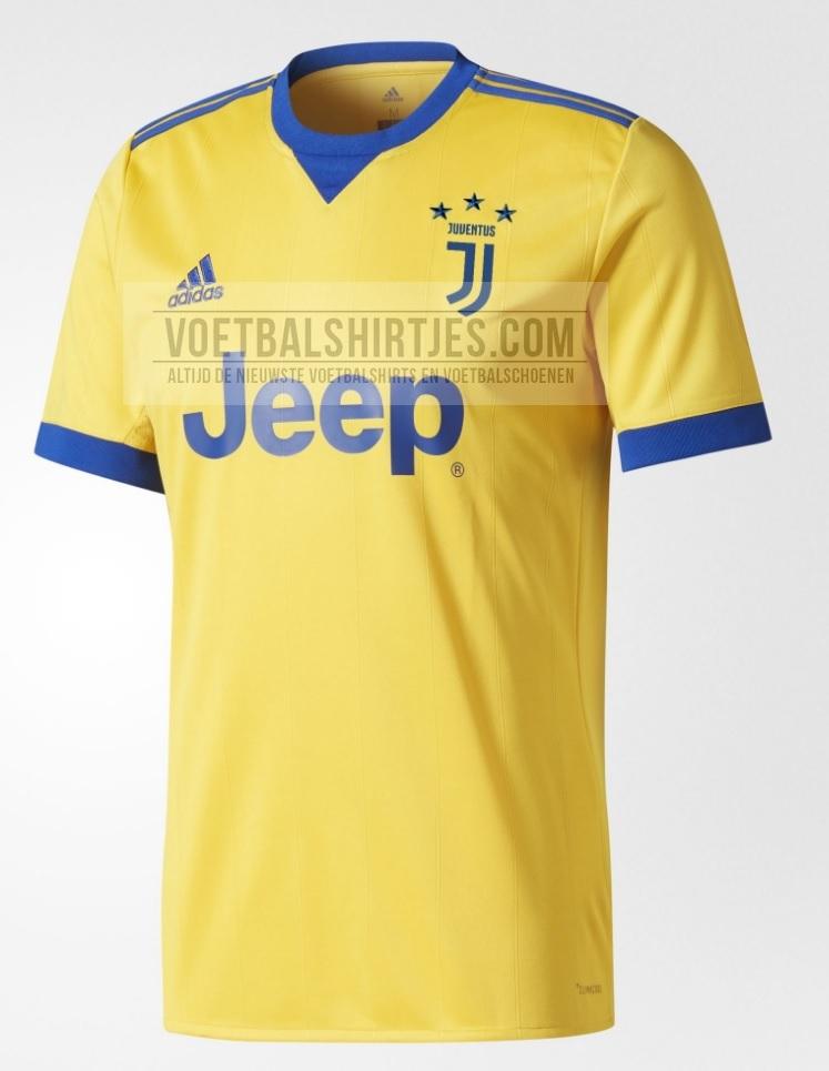 Juventus uitshirt 17-18