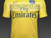 PSG 17-18 away kit