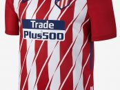 Atletico Madrid 2018 home kit