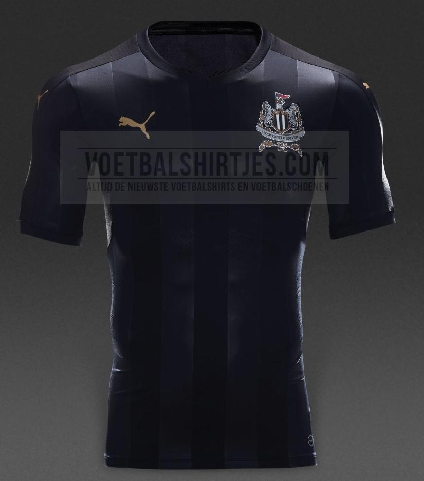 Newcastle United 17-18 third kit