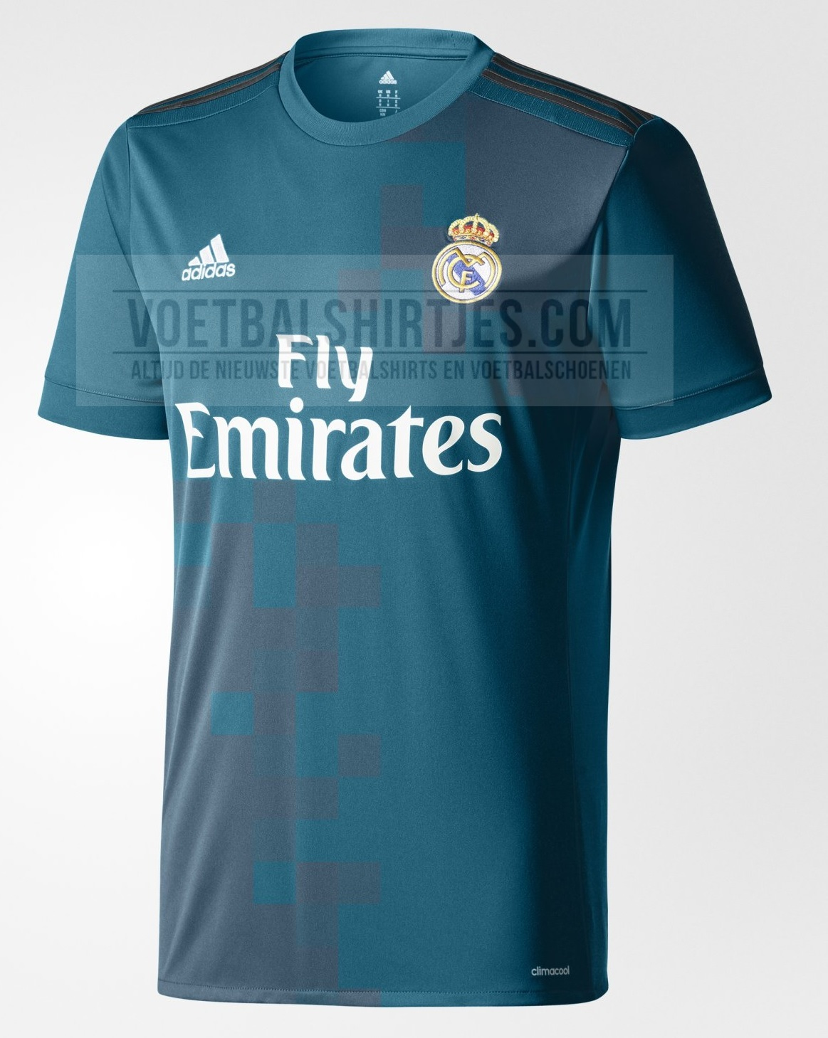 Real Madrid 17-18 third kit