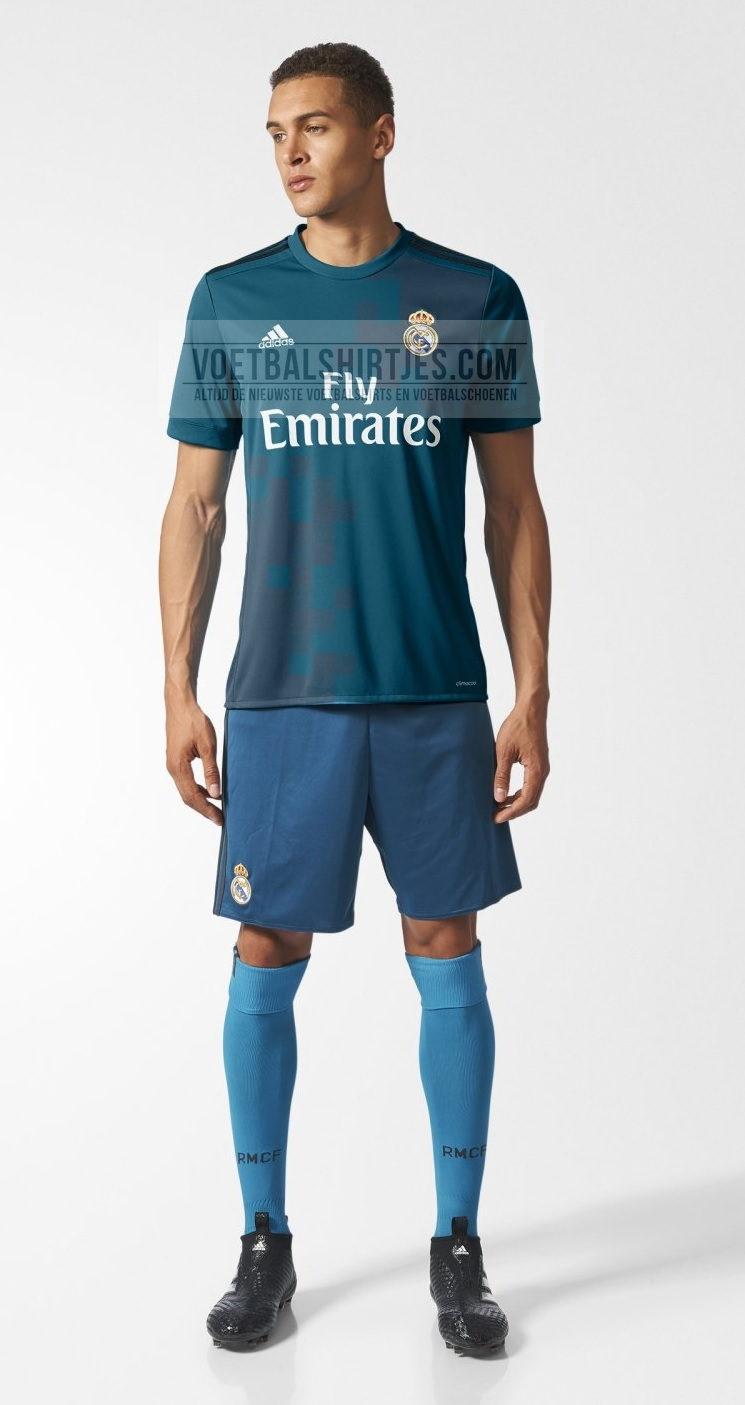 Real Madrid third kit 17/18
