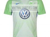 Vfl Wolfsburg thuisshirt 17-18