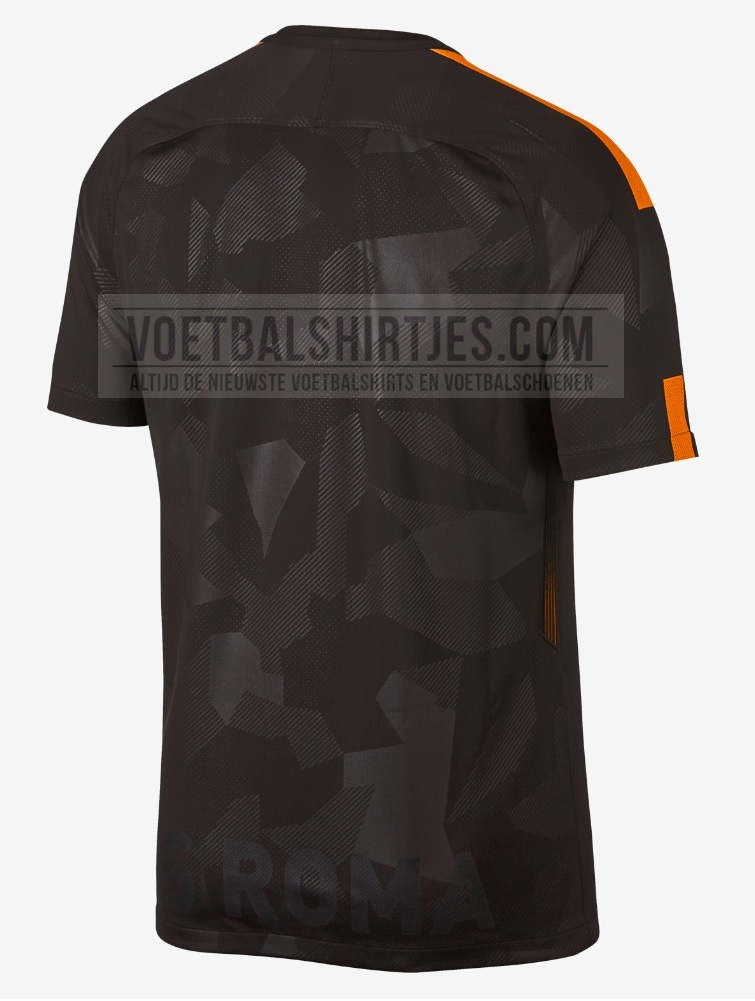 AS Roma maglia Champions League 2018