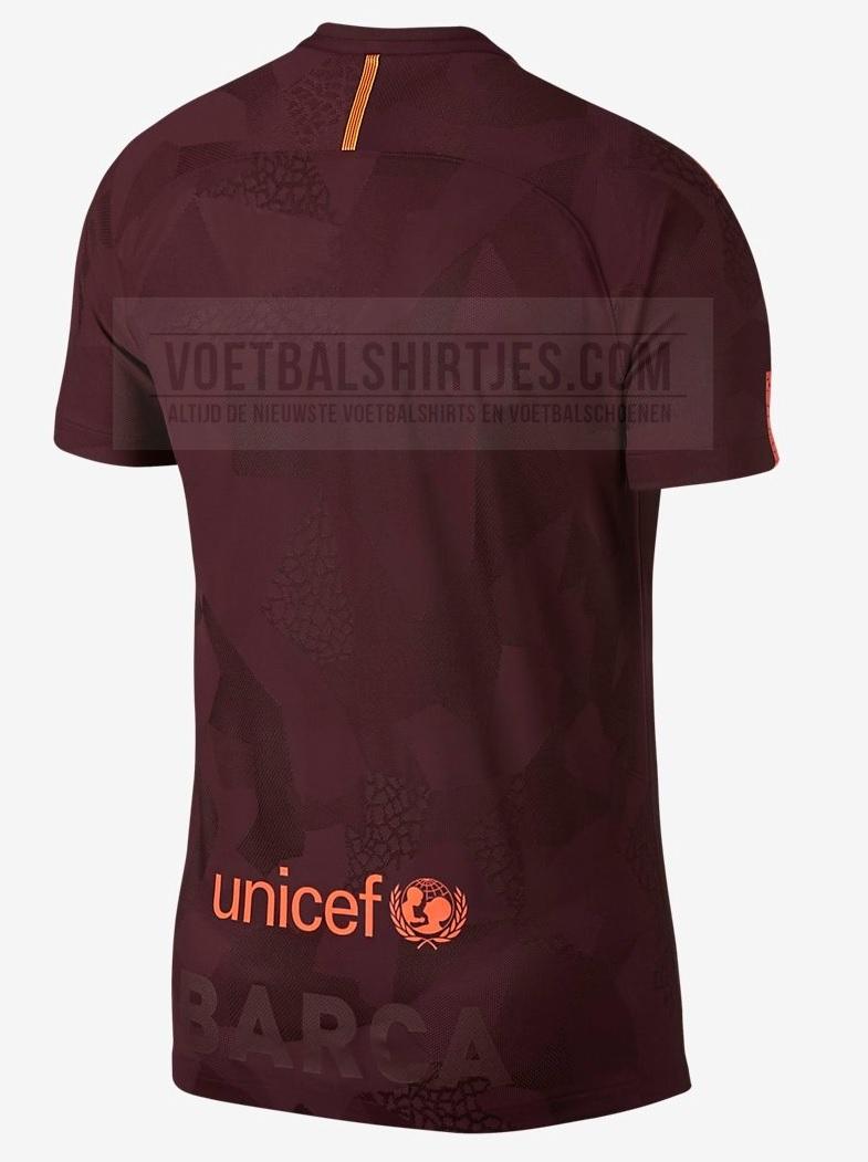 camiseta 3. FC Barcelona 17-18