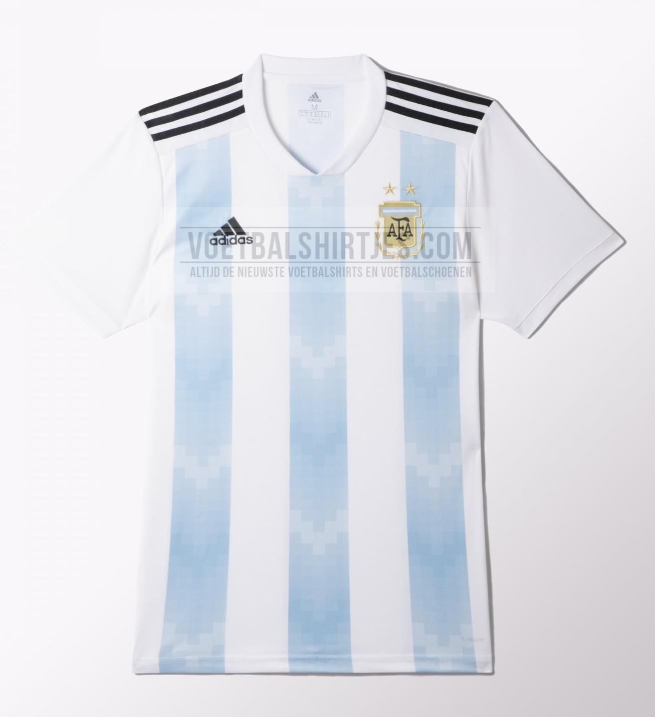 Argentinië shirt 2018