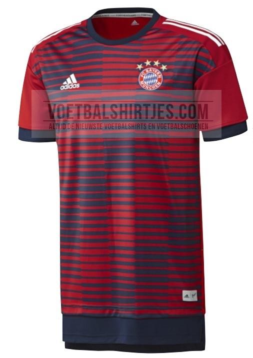 Bayern Munchen 2018 pre match shirt