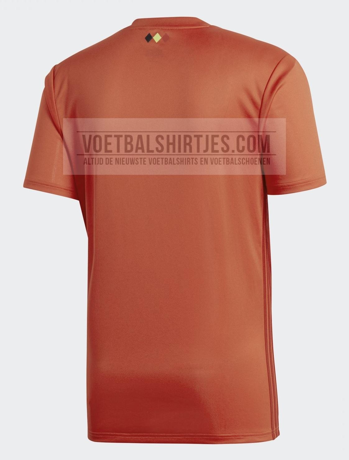 België shirt WK 2018