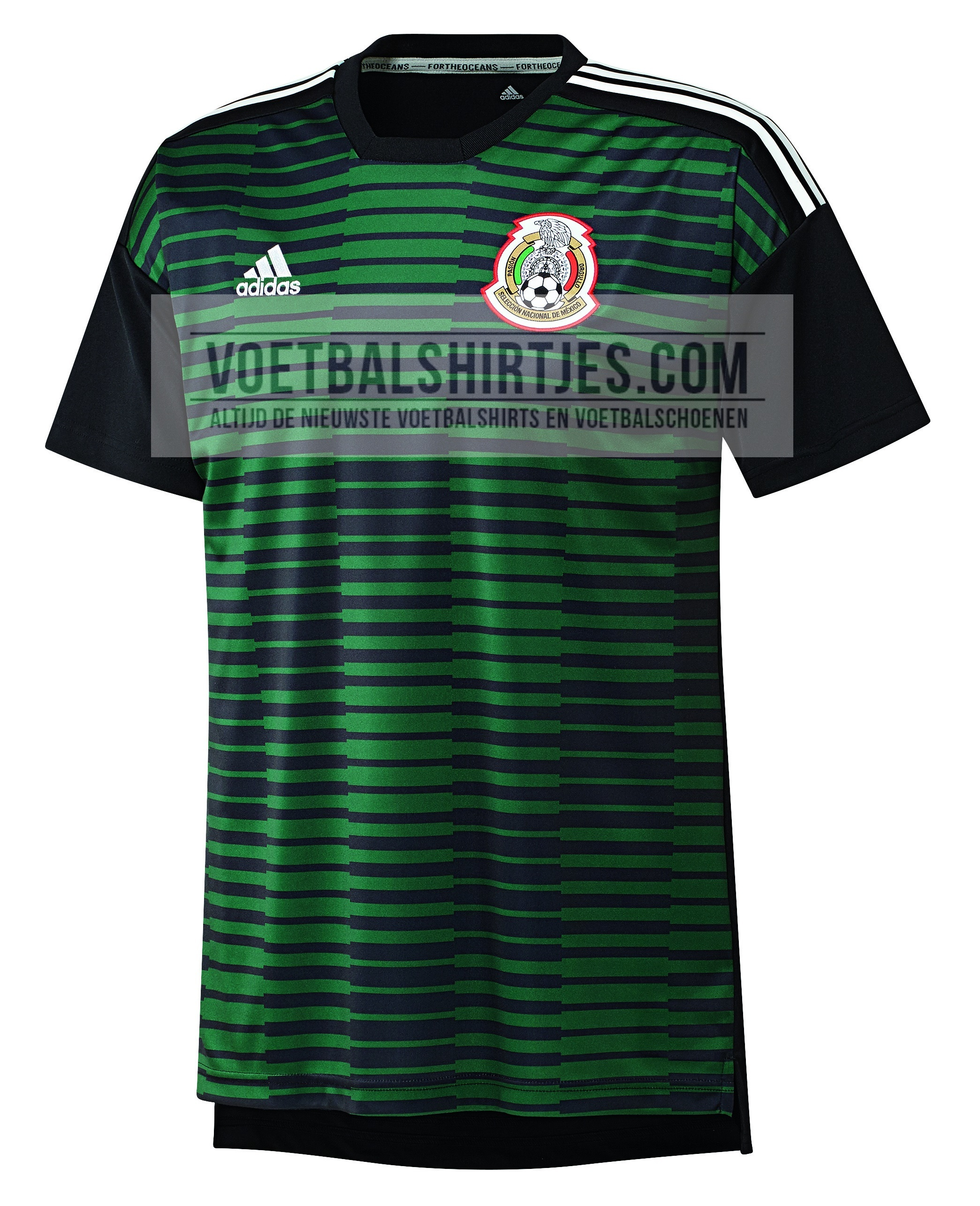 camiseta mexico 2018 pre match