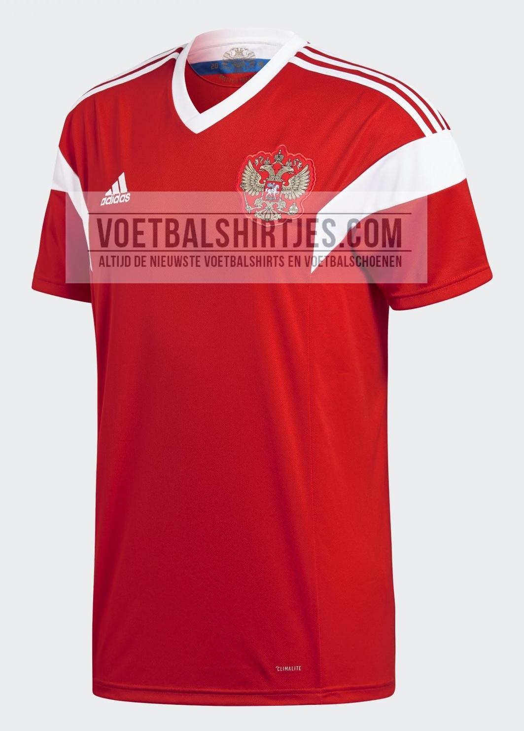 Rusland shirt WK 2018