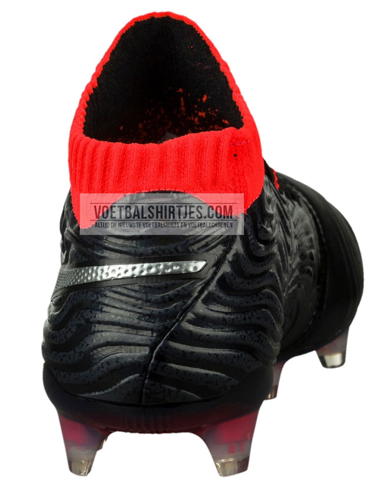 puma one 18.1 fg black blast red