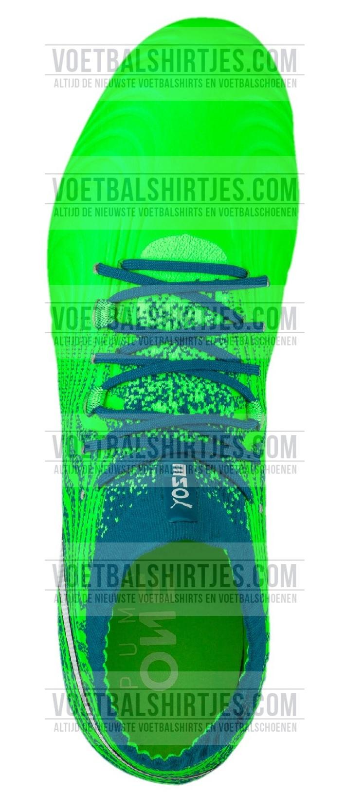 puma one 18.1 voetbalschoenen groen