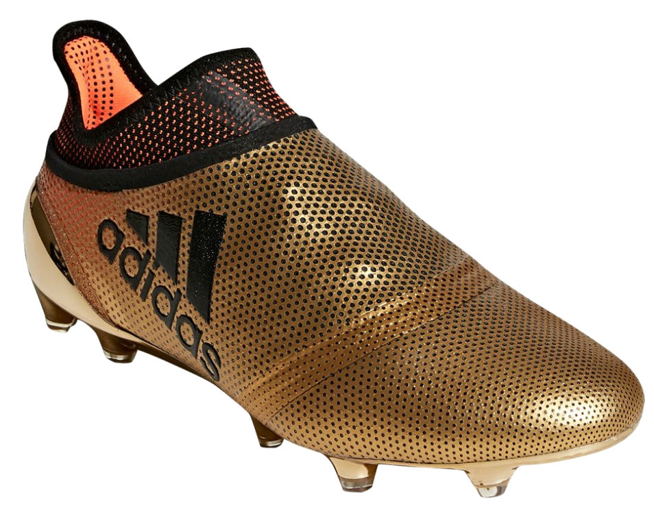 adidas X 17+ Purespeed metallic gold