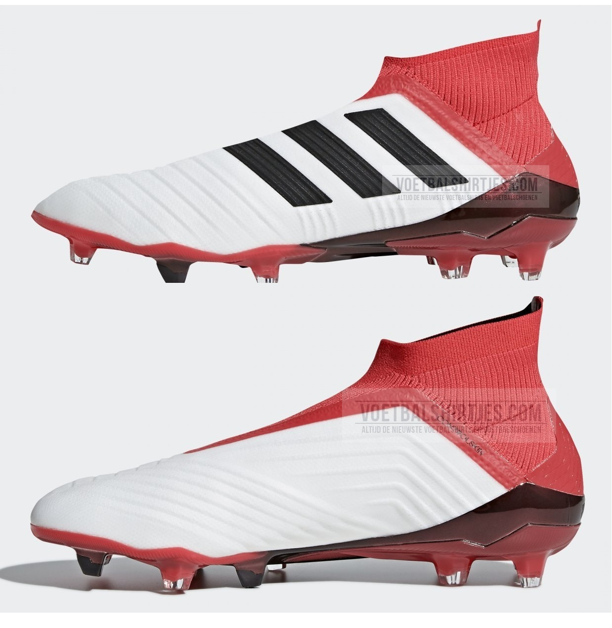 adidas predator 18+ white red